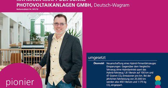 Ökomanagement Niederösterreich Pionier